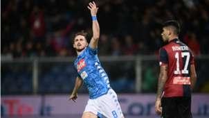 Genoa Napoli Fabian Ruiz Serie A