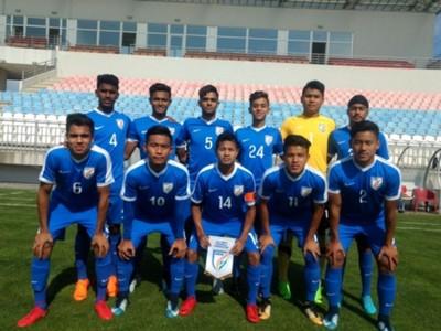 India U-16 vs Tajikistan