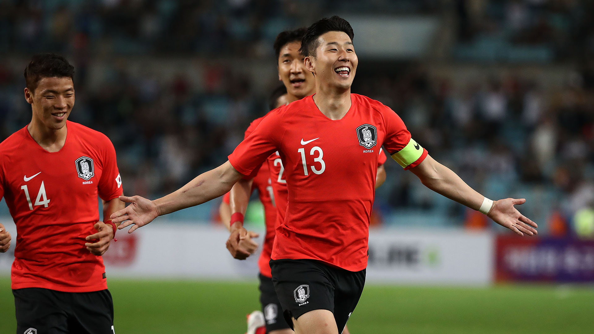 Son Heung Min South Korea 2018