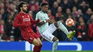 Mohamed Salah David Alaba FC Liverpool FC Bayern München Champions League 19092019