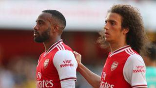 Alexandre Lacazette Arsenal vs Tottenham 2019-20