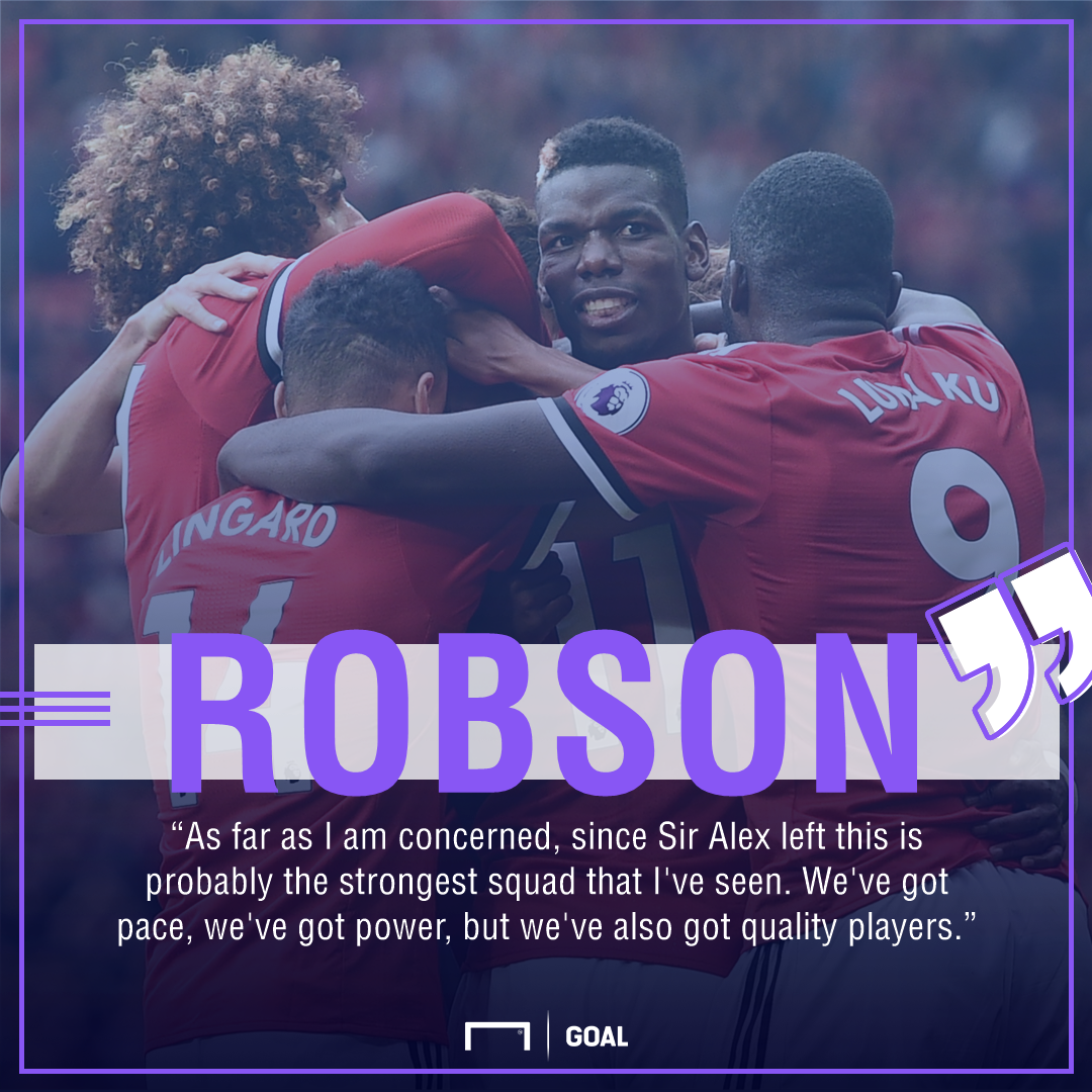 Bryan Robson Manchester United best since Fergie