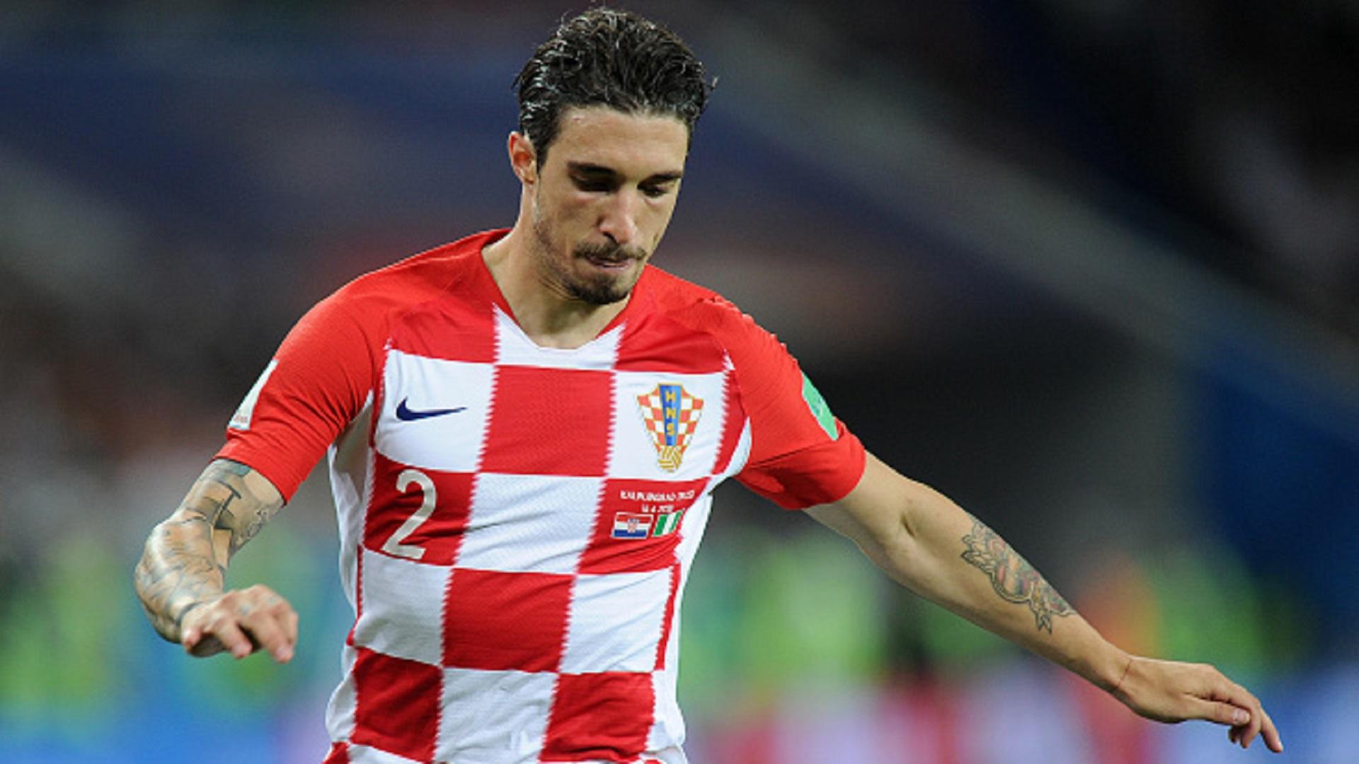 Sime Vrsaljko Croatia And Atletico Madrids Marauding Right Back Goal Com