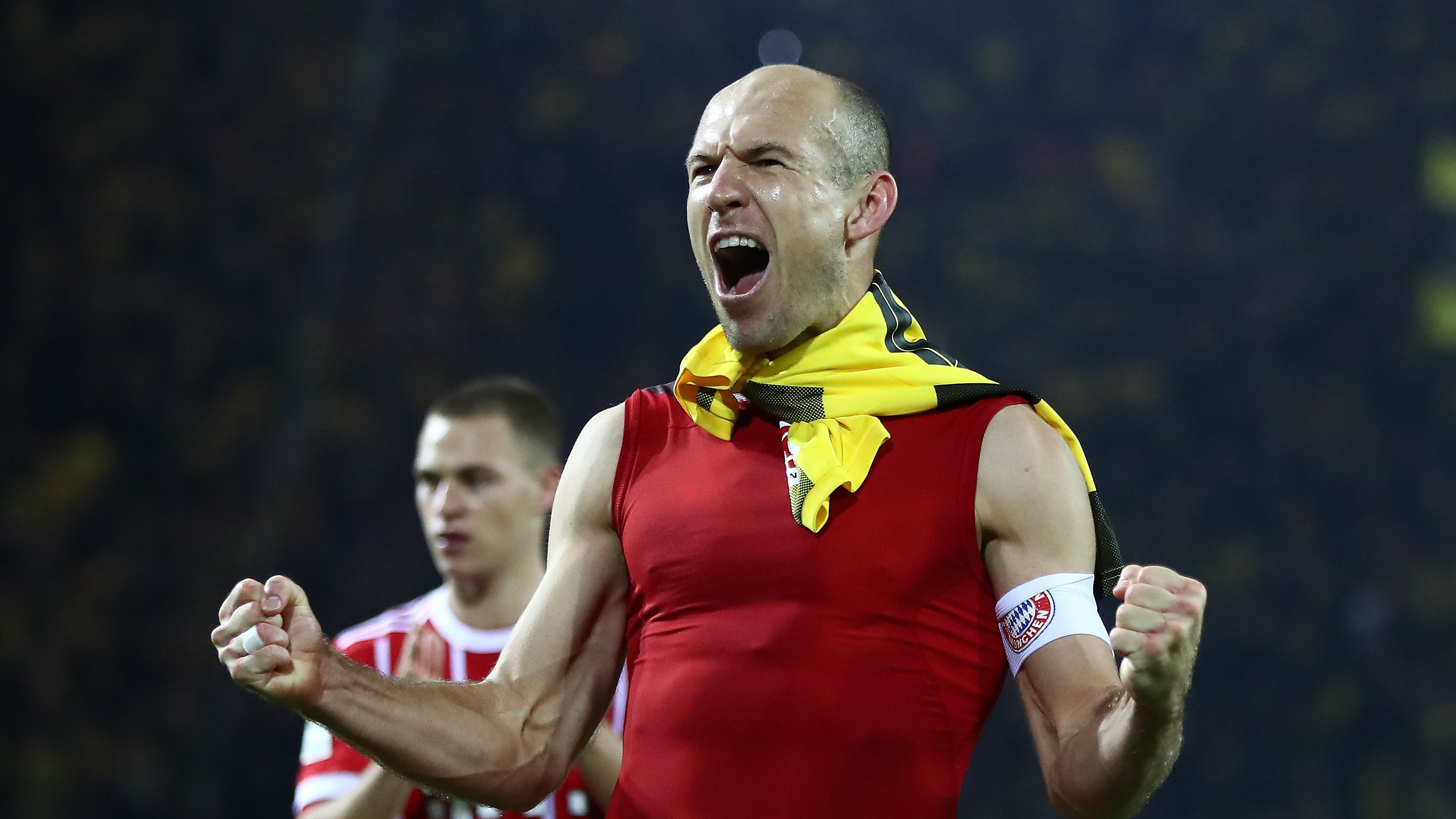 Arjen Robben FC Bayern Borussia Dortmund 20111104