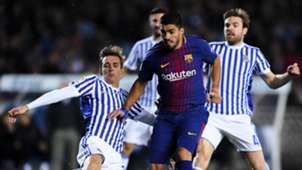 Luis Suarez Real Sociedad Barcelona LaLiga 14012018