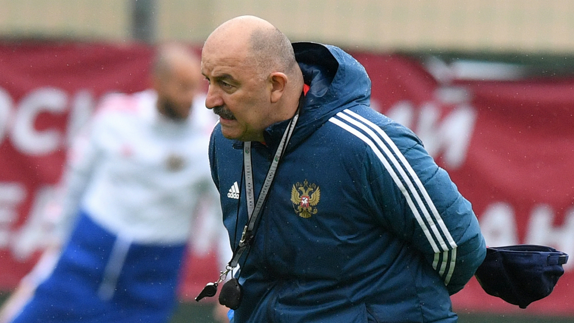 Russian Federation manager Stanislav Cherchesov