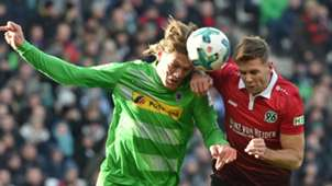 Vestergaard Füllkrug Gladbach Hannover Bundesliga 02242018