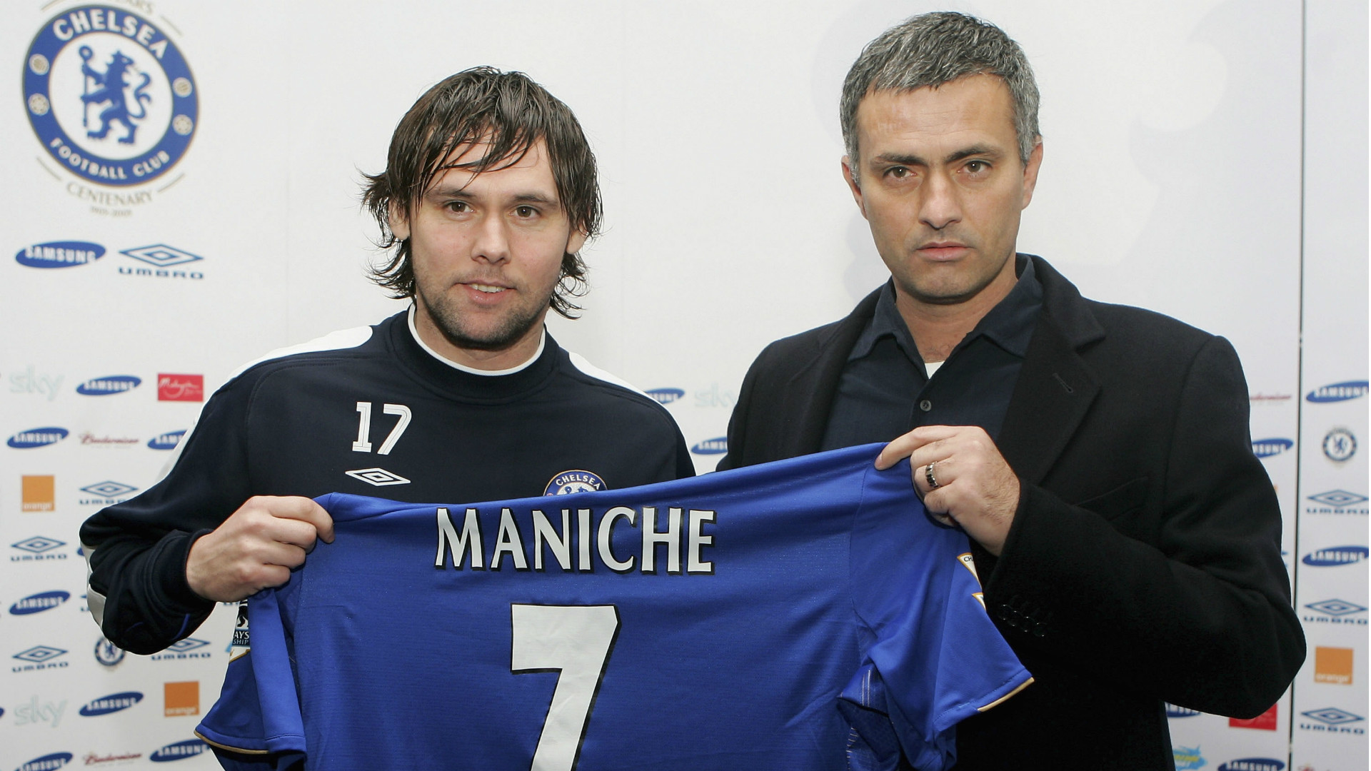 Maniche Jose Mourinho Chelsea