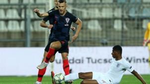 croatia england - ivan perisic marcus rashford - nations league - 12102018