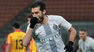 Inter Benevento Candreva Coppa Italia
