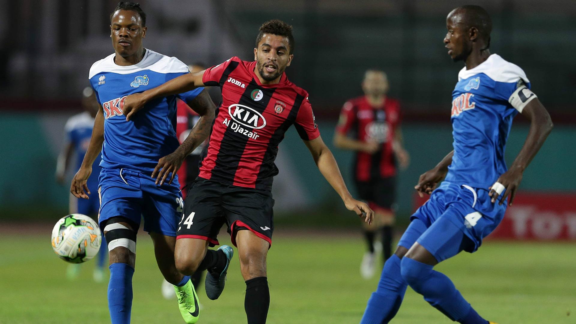 Rayon Sports v USM Alger.