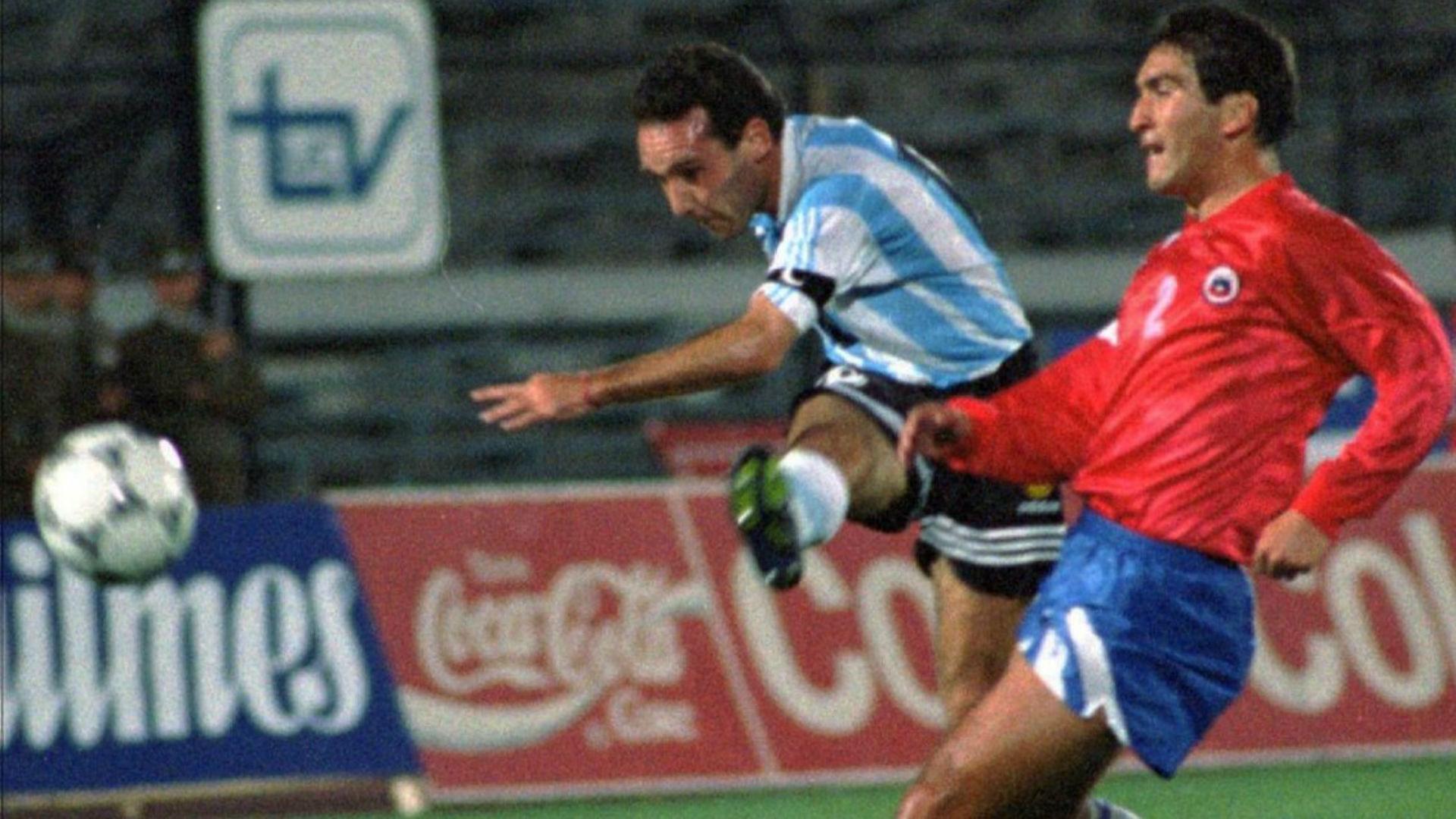Posse Argentina Chile Amistoso 16111994