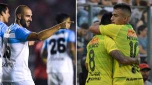 Lisandro Lopez Leonel Miranda Racing Defensa y Justicia Superliga