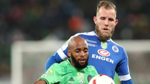 Orlando Pirates, Oupa Manyisa & SuperSport United, Jeremy Brockie