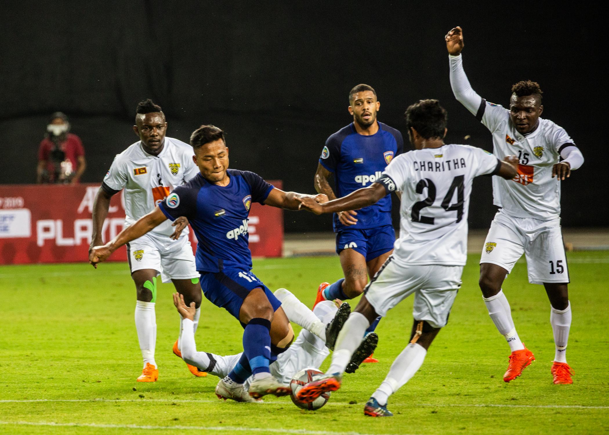 Jeje Lalpekhlua Chennaiyin FC Colombo FC AFC Cup 2019