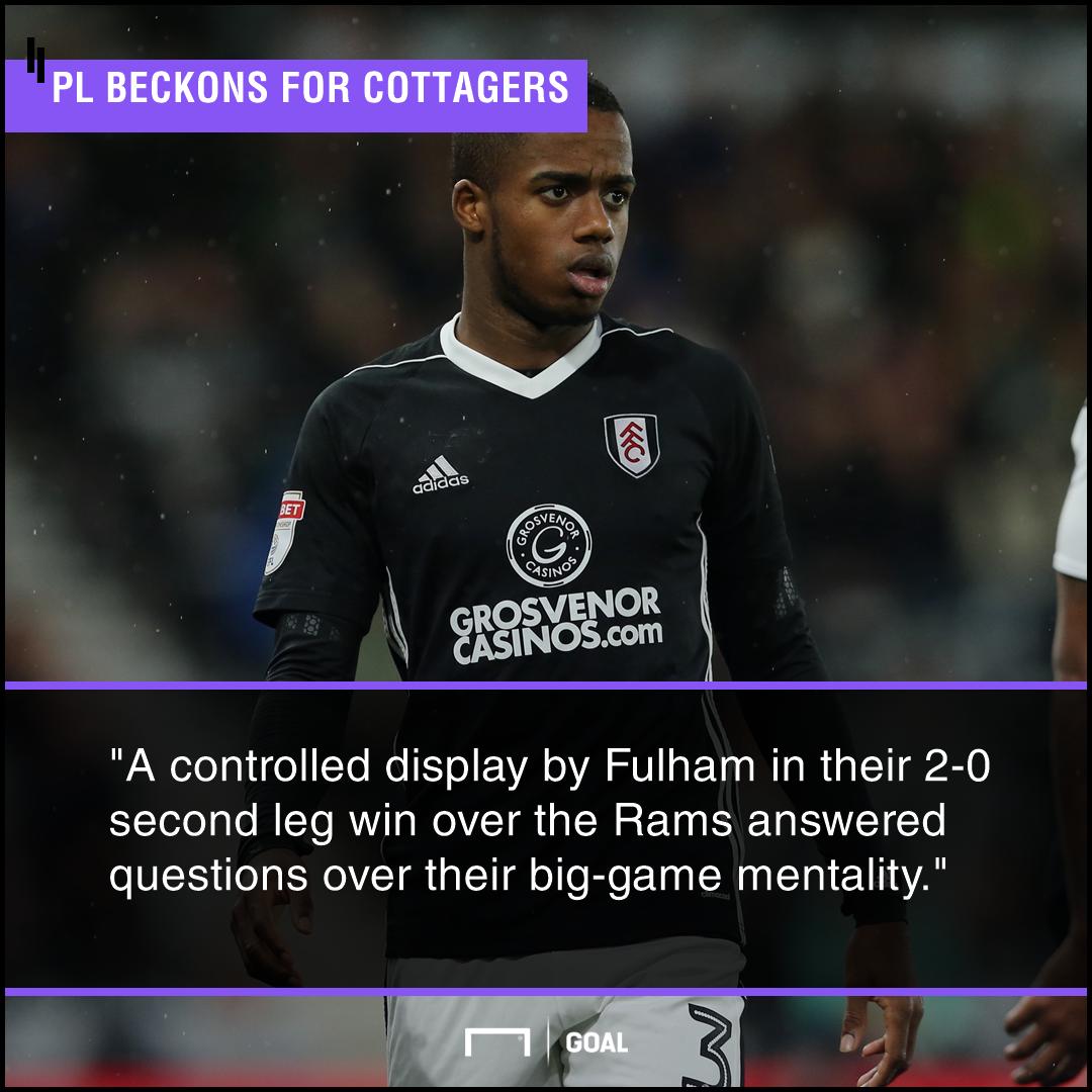 Fulham Villa Championship Play-off final graphic