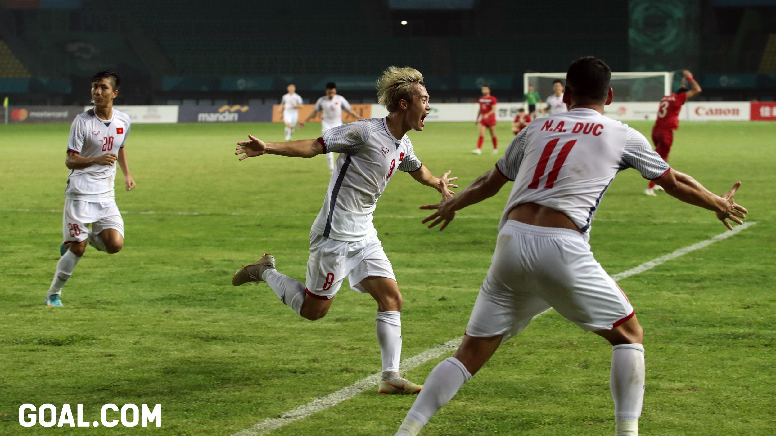 Olympic Việt Nam Olympic Syria Tứ kết ASIAD 2018