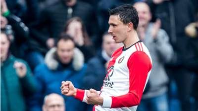 Steven Berghuis, Feyenoord, 04012018