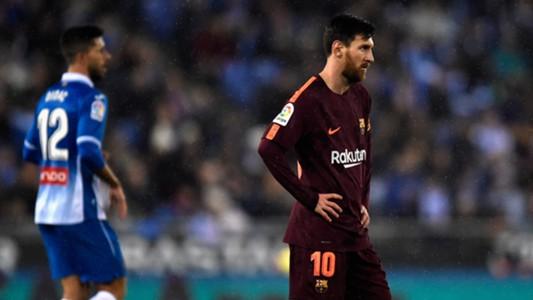 Lionel Messi Espanyol Barcelona Copa del Rey 17012018