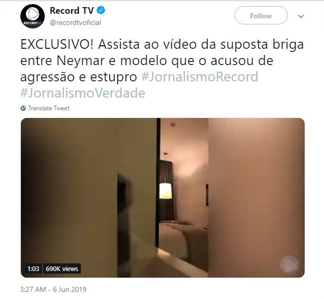 Brazilian football star Neymar testifies about posting rape accuser's photos online
