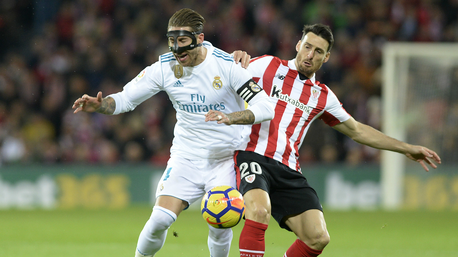 Sergio Ramos Aritz Aduriz Athletic Bilbao Real Madrid La Liga