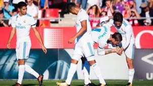 Isco Sergio Ramos Girona Real Madrid LaLiga