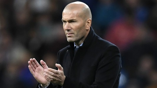 Zinedine Zidane Real Madrid 2017