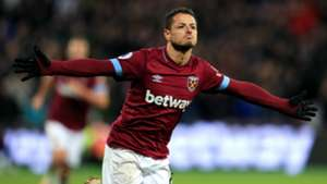Chicharito West Ham Crystal Palace