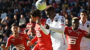Benjamin Andre Mario Balotelli Rennes Nice Ligue 1 17092017