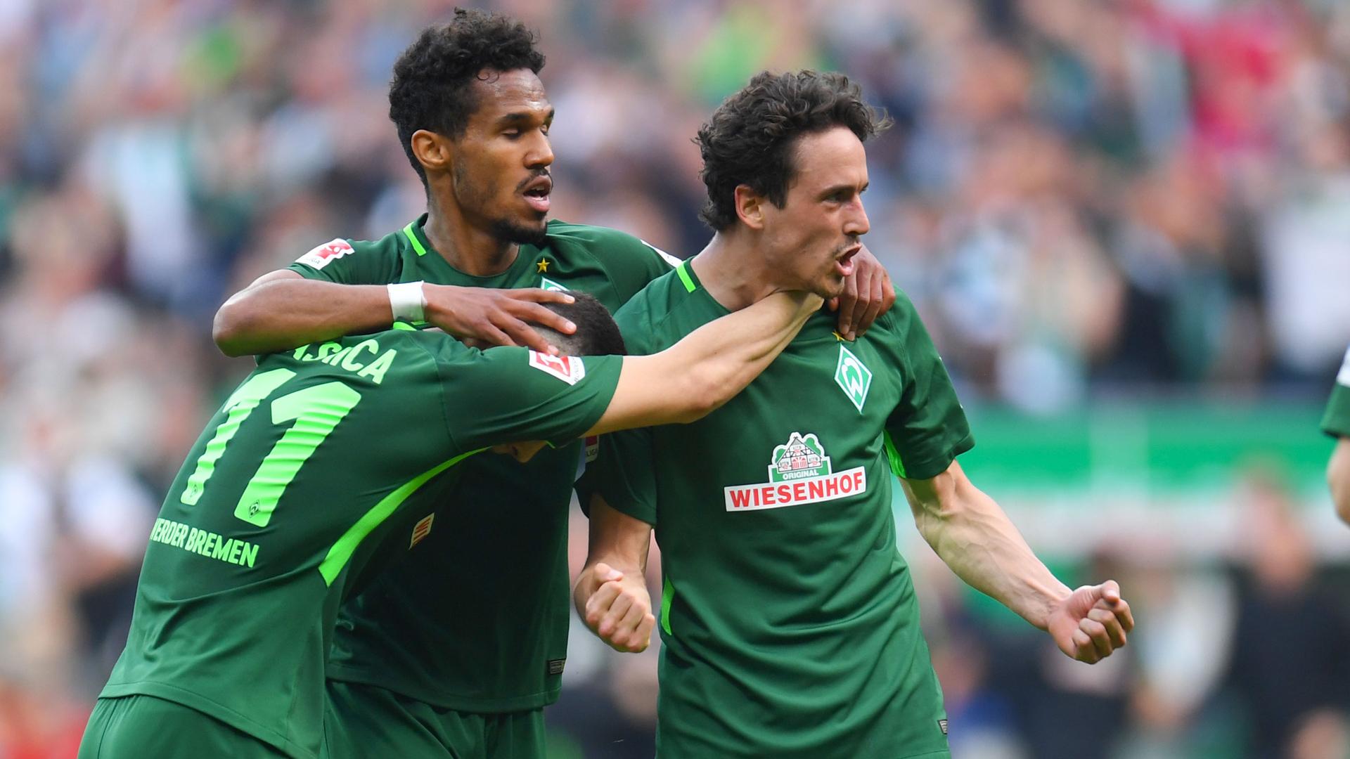 Thomas Delaney Werder Bremen Borussia Dortmund BVB 29042018