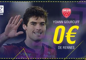 Yoann Gourcuff - De Rennes à Dijon - Libre -contrat rompu) - 1 an