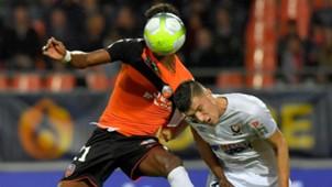 Frederic Guilbert Faiz Selemani Lorient Caen Coupe de la Ligue 24102017
