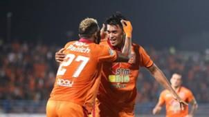 Selebrasi Pusamania Borneo FC