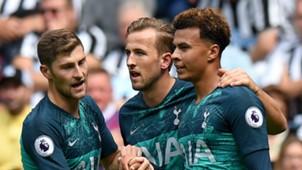 Harry Kane Dele Alli Ben Davies Tottenham 2018-19