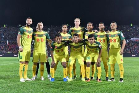 Kedah's first eleven against Johor Darul Ta'zim 20/1/2017