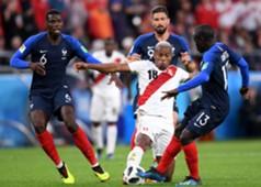 Paul Pogba & N'Golo Kante vs. Peru