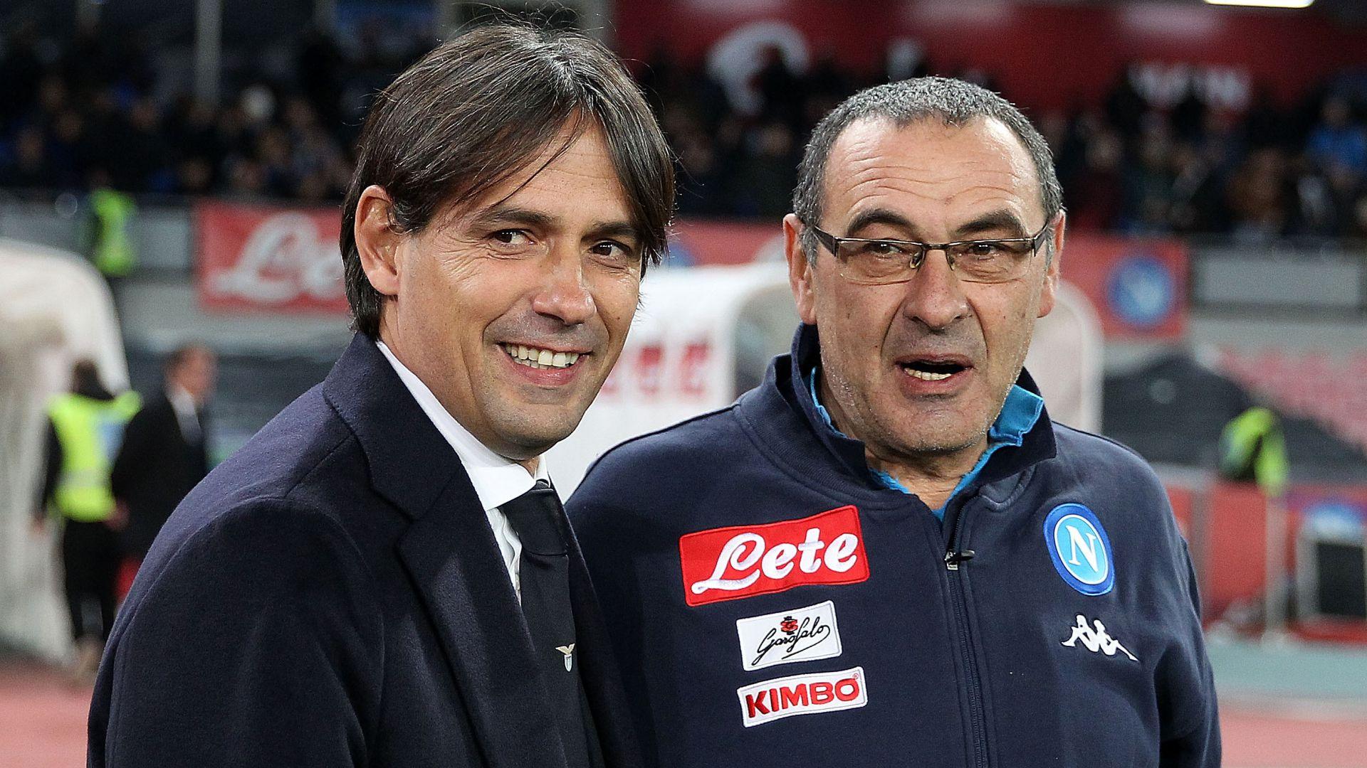 Napoli, idea Simone Inzaghi se Sarri non rinnova