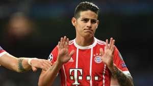 James Rodriguez FC Bayern Real Madrid 010518