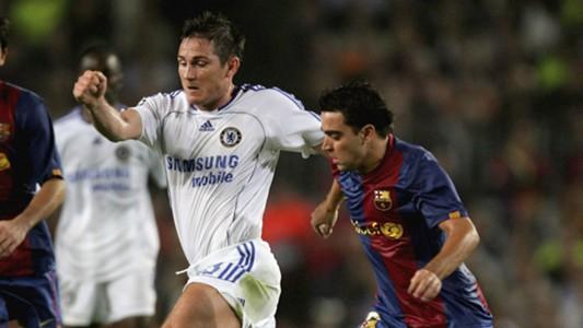Frank Lampard Xavi Chelsea Barcelona