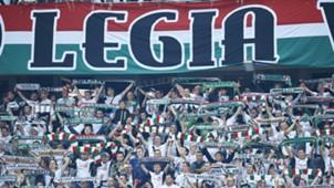 legia warschau fans