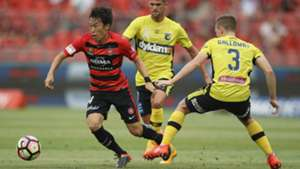 Jumpei Kusukami Western Sydney Wanderers v Central Coast Mariners A-League 12022017