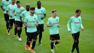 Portugal training Euro 2016