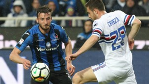 Capezzi Cristante Atalanta Sampdoria Serie A