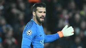 Alisson Becker Roma Liverpool UEFA Champions League 04242018