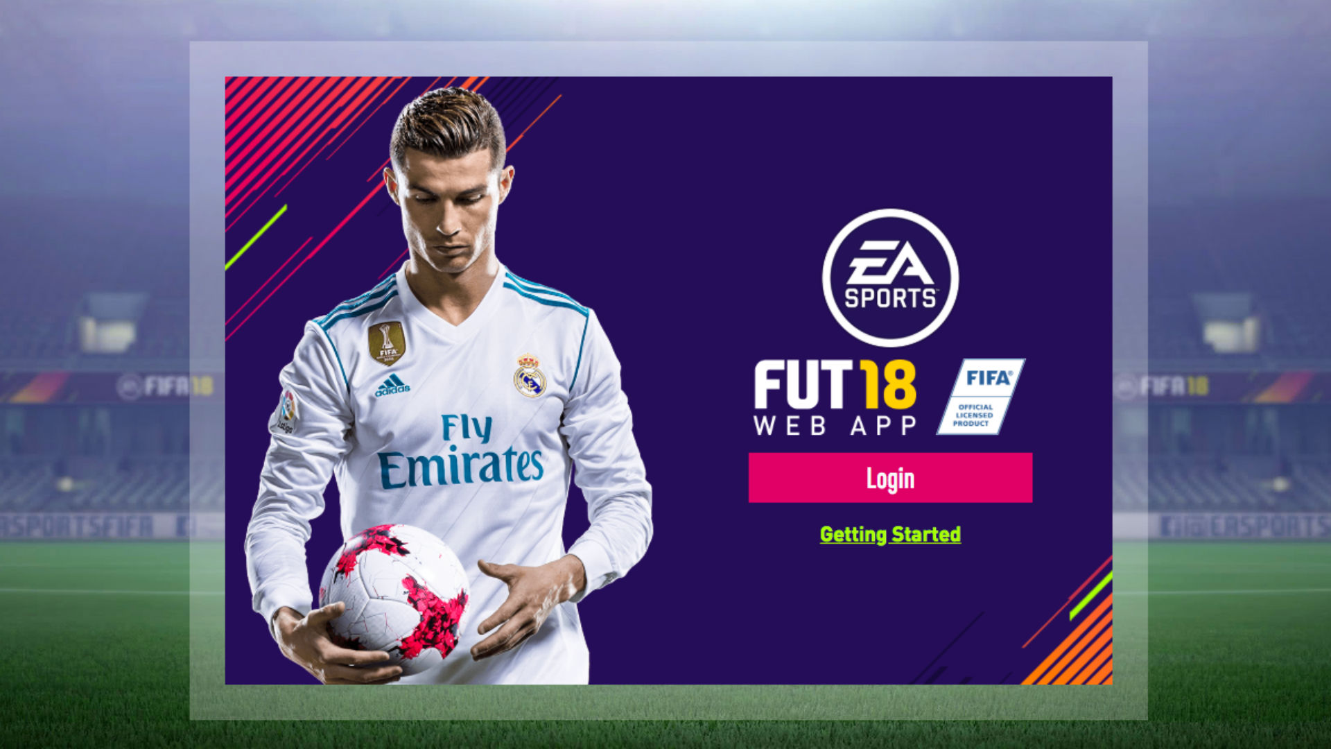 FIFA Ultimate Team Web App