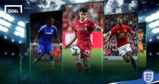 England's 20 best players U20 GFX