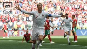 Logo Clear Cristiano Ronaldo   Portugal  2018