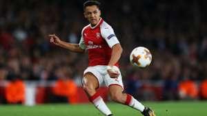 140917 Arsenal Köln Alexis Sánchez