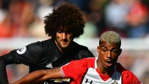 Marouane Fellaini Mario Lemina Manchester United 2017