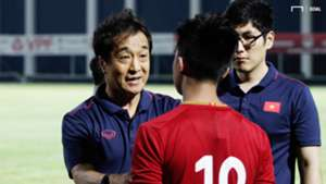 Coach Lee Young-jin - Martin Lo U23 Vietnam vs U18 Vietnam Friendly Match 10 July 2019